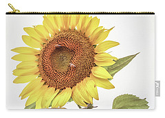 Carry-all Pouch featuring the photograph Sunflowers 10 by Andrea Anderegg