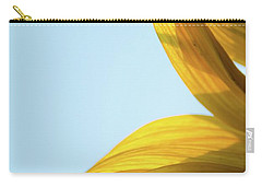 Carry-all Pouch featuring the photograph Sunflowers 11 by Andrea Anderegg
