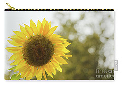 Carry-all Pouch featuring the photograph Sunflowers 12 by Andrea Anderegg