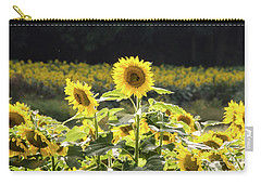 Carry-all Pouch featuring the photograph Sunflowers 9 by Andrea Anderegg