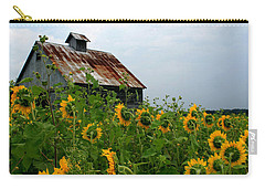 Sunflowers Along Rt 6 Carry-all Pouch