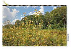 Sunflowers And Goldenrod Carry-all Pouch