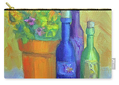 Sunflowers And Wine Carry-all Pouch