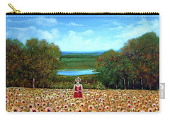 Sunflowers At Lake Wallenpaupack Carry-all Pouch