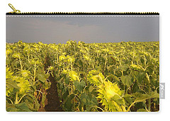 Sunflowers Before The Storm Carry-all Pouch