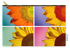 Sunflowers Collage Carry-all Pouch