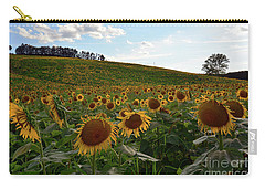 Sunflowers Fields  Carry-all Pouch