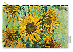 Sunflowers For This Summer Carry-all Pouch
