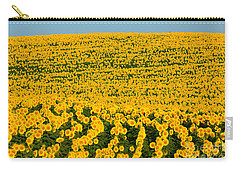 Sunflowers Galore Carry-all Pouch by Catherine Sherman