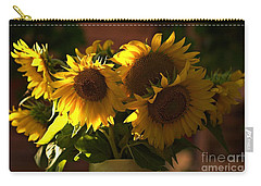 Sunflowers In A Vase Carry-all Pouch