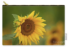 Sunflowers In Field Carry-all Pouch