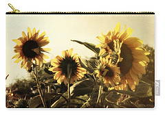 Sunflowers In Tone Carry-all Pouch