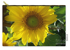 Sunflowers-just Bloomed Carry-all Pouch