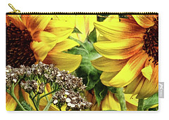 Sunflowers Carry-all Pouch by Mikki Cucuzzo