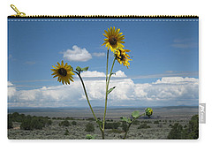 Sunflowers On The Gorge Carry-all Pouch