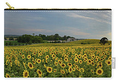 Sunflowers, People, And Pictures 2 Carry-all Pouch