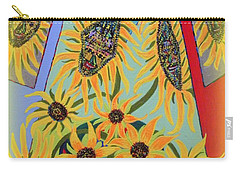 Sunflowers Rhapsody Carry-all Pouch