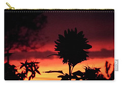 Sunflower's Sunset Carry-all Pouch