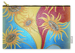 Sunflowers Symphony Carry-all Pouch