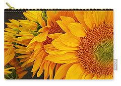 Sunflowers Train Carry-all Pouch