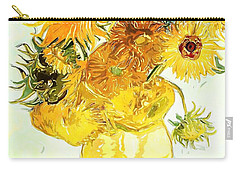 Sunflowers - Van Gogh Carry-all Pouch