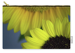Sunflowery Carry-all Pouch by Carlee Ojeda