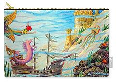Sunken Ships Carry-all Pouch