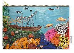 Sunken Treasure Ship Carry-all Pouch