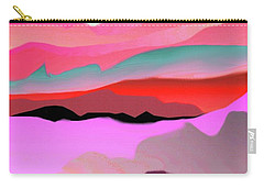 Carry-all Pouch featuring the digital art Sunland 3 by Mary Armstrong