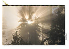 Sunlight And Fog Carry-all Pouch