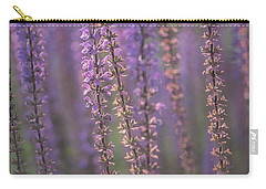 Sunlight On Lavender Carry-all Pouch by Jacqui Boonstra