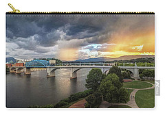 Sunlight And Showers Over Chattanooga Carry-all Pouch