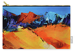 Sunlight In The Valley Carry-all Pouch by Elise Palmigiani