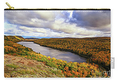 Sunlight On Lake Of The Clouds Carry-all Pouch by Rachel Cohen