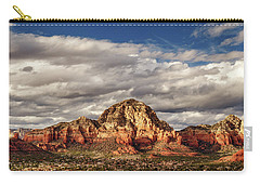 Sunlight On Sedona Carry-all Pouch by James Eddy