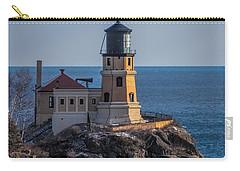 Sunlight On Split Rock Lighthouse Carry-all Pouch by Paul Freidlund
