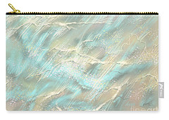 Carry-all Pouch featuring the digital art Sunlight On Water by Amyla Silverflame