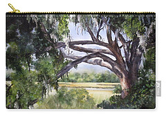 Sunlit Marsh Carry-all Pouch