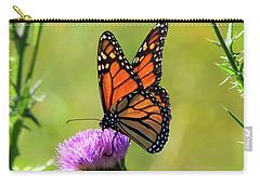 Sunlit Monarch  Carry-all Pouch