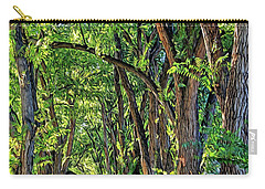 Sunlit Path Carry-all Pouch by Gina Savage
