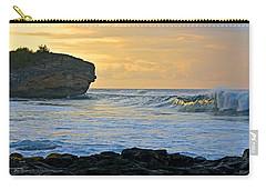 Sunlit Waves - Kauai Dawn Carry-all Pouch