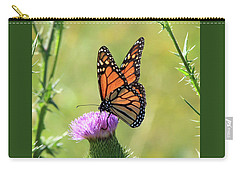 Sunlit Monarch Carry-all Pouch