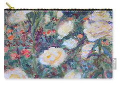 Sunny Day At The Rose Garden Carry-all Pouch by Quin Sweetman