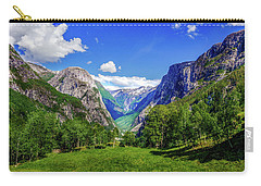 Sunny Day In Naroydalen Valley Carry-all Pouch