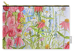 Carry-all Pouch featuring the painting Sunny Days by Laurie Rohner