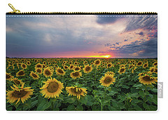 Sunny Disposition  Carry-all Pouch by Aaron J Groen