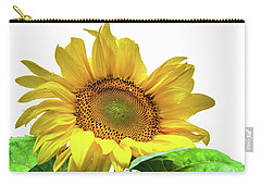 Carry-all Pouch featuring the photograph Sunny Flower by Jenny Rainbow
