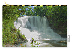 Sunny Flowing Falls Carry-all Pouch by Shelly Gunderson