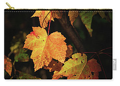 Sunny Leaves Carry-all Pouch