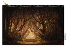 Sunny Morning In Dark Hedges Carry-all Pouch